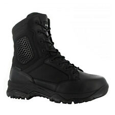 "Magnum Mens 8"" Strike Force WP Black Side Zip Waterproof Tactical Police Boots"
