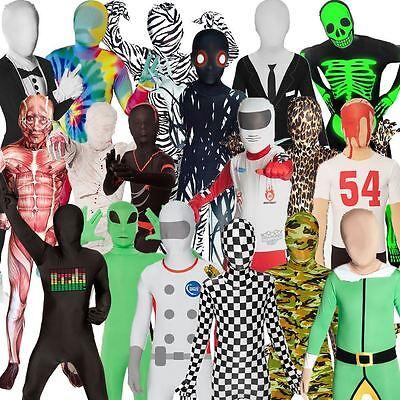 Kinder Morphsuit Karneval Fasching Verkleidung Festival Jungen  Mädchen Kostüm