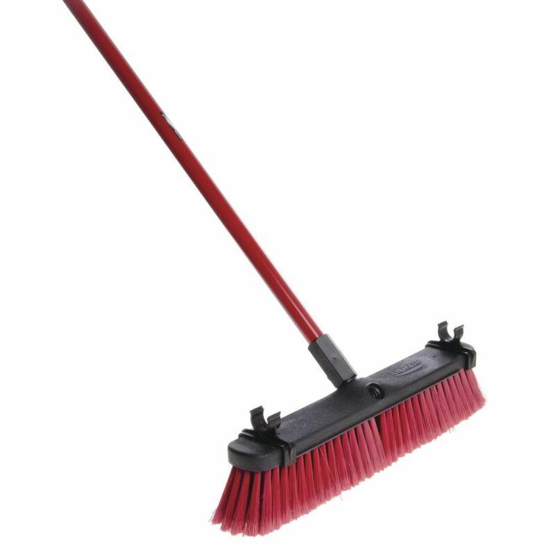 "Libman Red Multi-Surface Push Broom - 18""W"