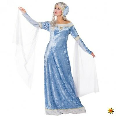 Mittelalter Kostüm Prinzessin Kleid hellblau Samt Game of Thrones - Game Of Thrones Prinzessin Kostüm
