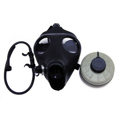 Israeli Adult Civilian Gas Mask & Standard 40mm Filter - emergency survival NEW