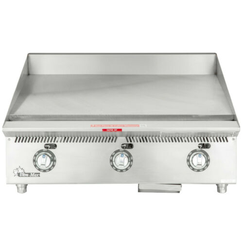 """Star 836ta 36"""" Countertop Gas Griddle W/ Thermostatic Controls"""
