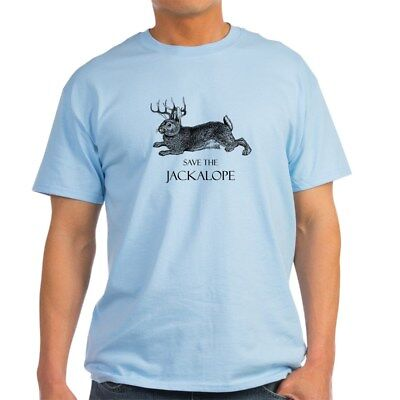 CafePress Jackalope T Shirt 100% Cotton T-Shirt