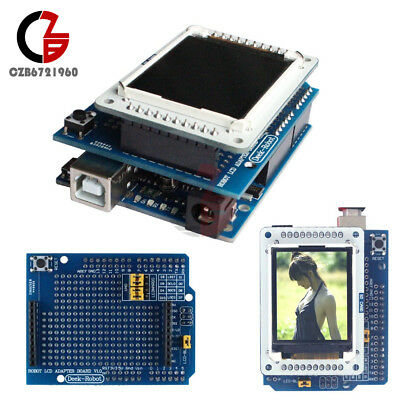 1.8 Inch Tft Lcd Shiled Adapter Board For Arduino Uno Tftlcd Display Ide1.0.5