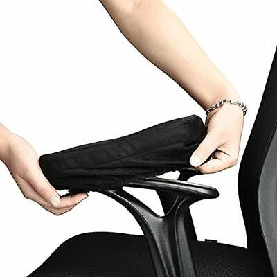Armrest Pad Ergonomic Memory Foam Chair Cushioning With Removable Washable For
