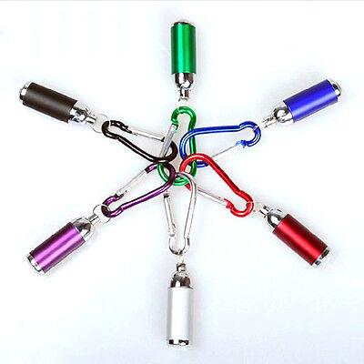 Useful Colorful Portable Aluminum Mini LED Flashlight Torch Light Keychains  New](Led Keychain)