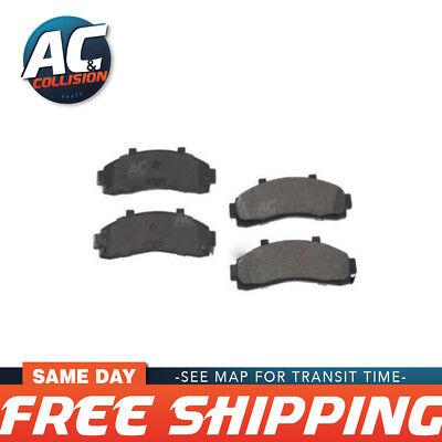 D882-MS FRONT Brake Pad Semi Metallic fits Chevrolet Envoy 02-05 TrailBlazer (02 Chevrolet Trailblazer Brake Pad)