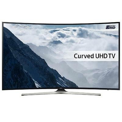 Samsung UE55KU6100, TV LED Curvo, Ultra HD 4K, 55''