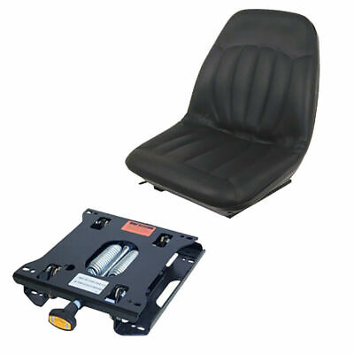 Black Suspension Seat For Fits Bobcat Skid Steer S205 S220 S160 S175 S130 S150 S