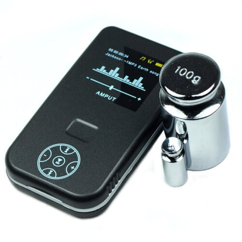100g x 0.01g Precision Digital Pocket Scale AMPUT with Calibration Weights