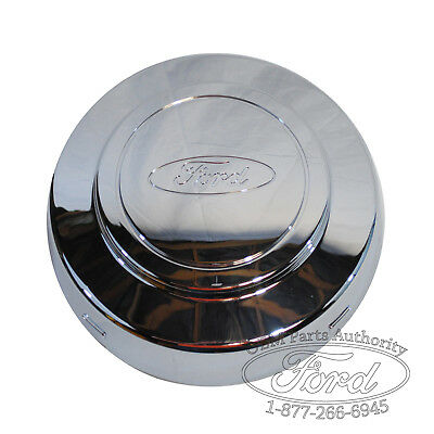 (OEM NEW Ford E-250, E-350 Alum. Wheel Chrome Center Cap - Econoline Van)