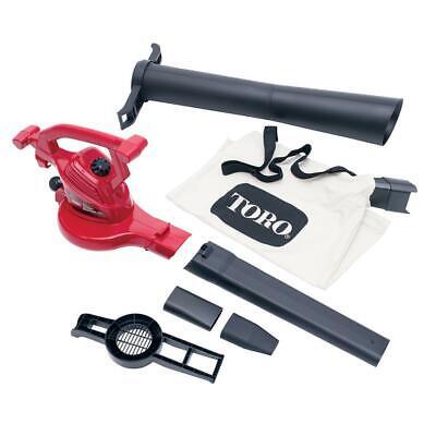 Toro Leaf Blower/Vacuum/Mulcher 250 MPH 350 CFM 12 Amp Elect