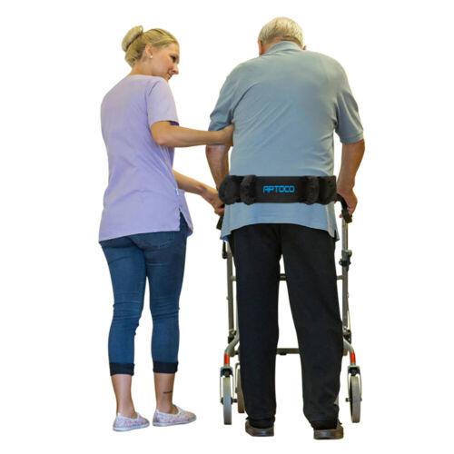 Gait Belt Patient Lift Transfer Board Slide Medical Sling Transport Grip Belt US Daily Living Aids