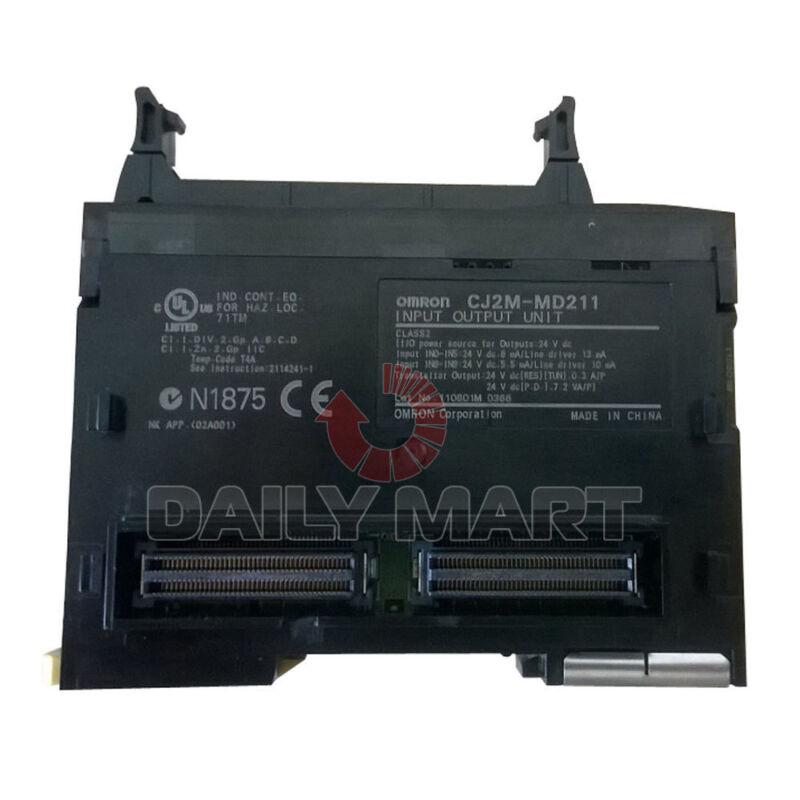 OMRON CJ2M-MD211 CJ2MMD211 PULSE INPUT OUTPUT PLC MODULE CPU UNIT NEW