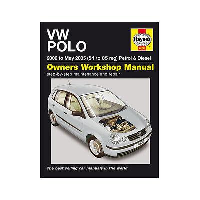 VW Polo 1.2 1.4 Petrol 1.4 1.9 Diesel 2002-05 (51 to 05 Reg) Haynes Manual