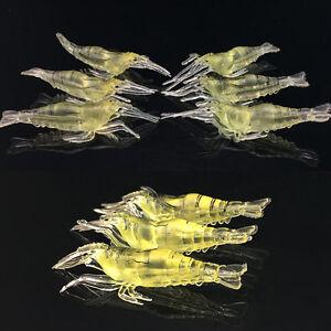 10-SHRIMP-Prawn-Lure-Bass-Coarse-Sea-River-Fishing-Cod-Mackerel-Salmon-Bait