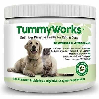 Probiotics For Dogs & Cats. Best Powder To Relieve Diarrhea, Yeast (Best Probiotic For Yeast Infection)