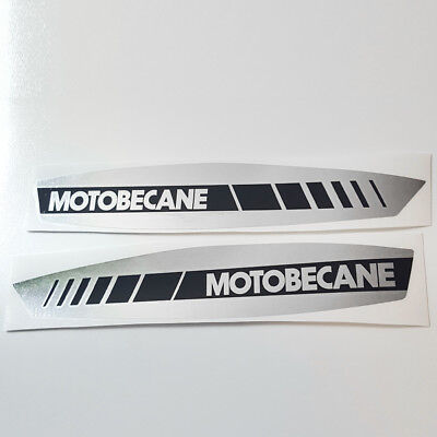 NEW Reproduction Motobecane 40T moped tank decal set vinyl sticker two stroke