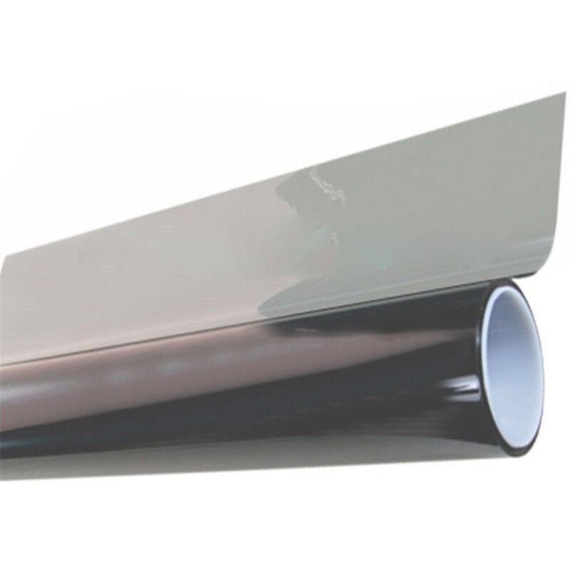VLT 35/% Uncut Roll 30 x 30FT Window Tint Film Charcoal Black Smoke Car Glass Office