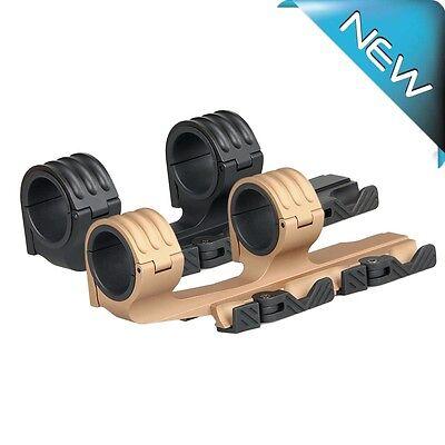 Hot Sale 30mm/35mm QD Double Ring Mount Fits 21mm Rail Rifle Scope Mounts