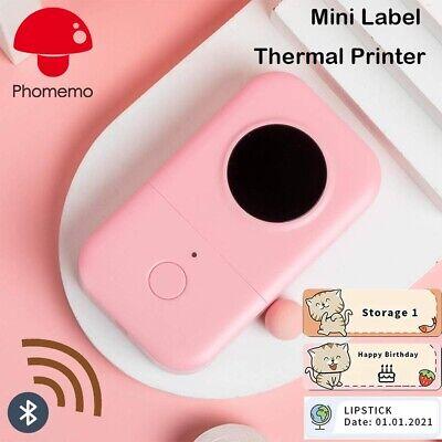 Wireless D30 Mini Pocket Bluetooth Thermal Paper Printer Label Sticker Notes