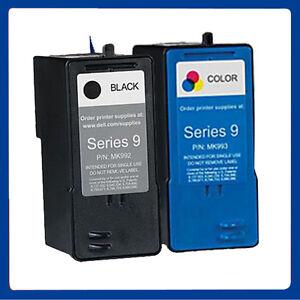 2 Ink Cartridges Bk & Colour for Dell Series 9 All In One 926 V305 V305W