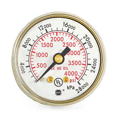 1-12 X 4000 Psi Welding Repair Replacement Gauge For Victor Flowmeters V-602