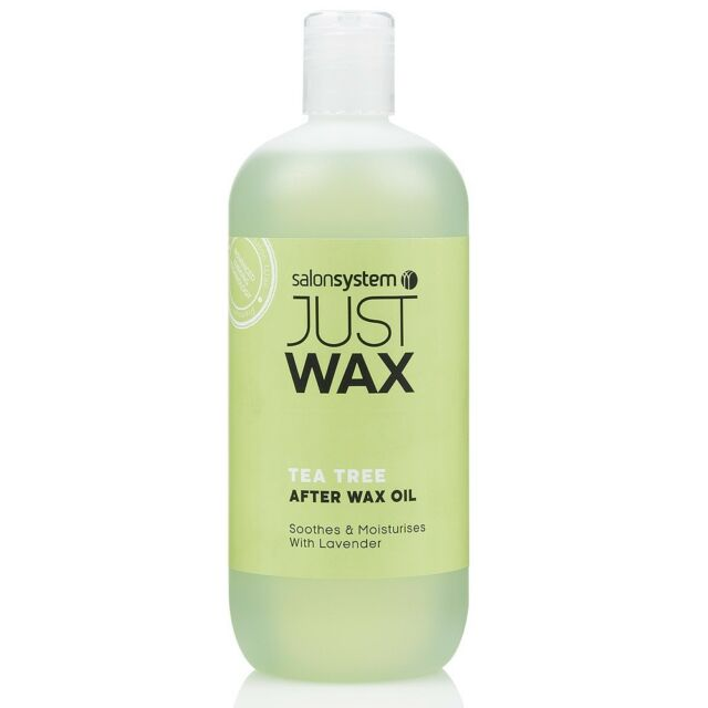 Salon System Just Wax Tea Tree After Wax Oil 500ml