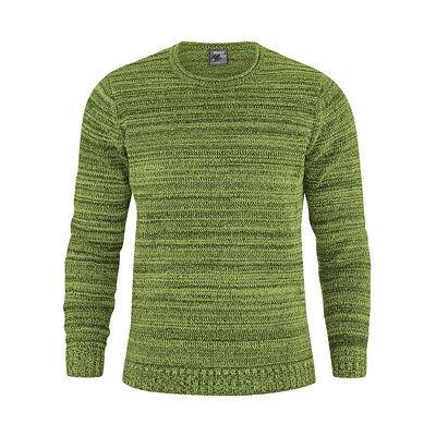 HempAge Herren Pullover unterschiedlich strukturiert Hanf/Bio-Baumwolle