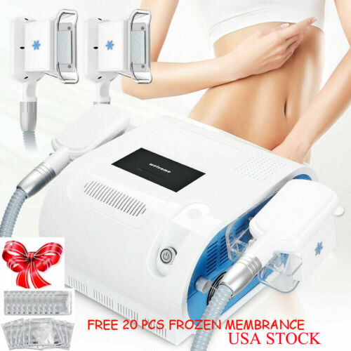 Dual Handles Fat Removal Cool Cellulite Machine Body Contour Cool Fat Slimming