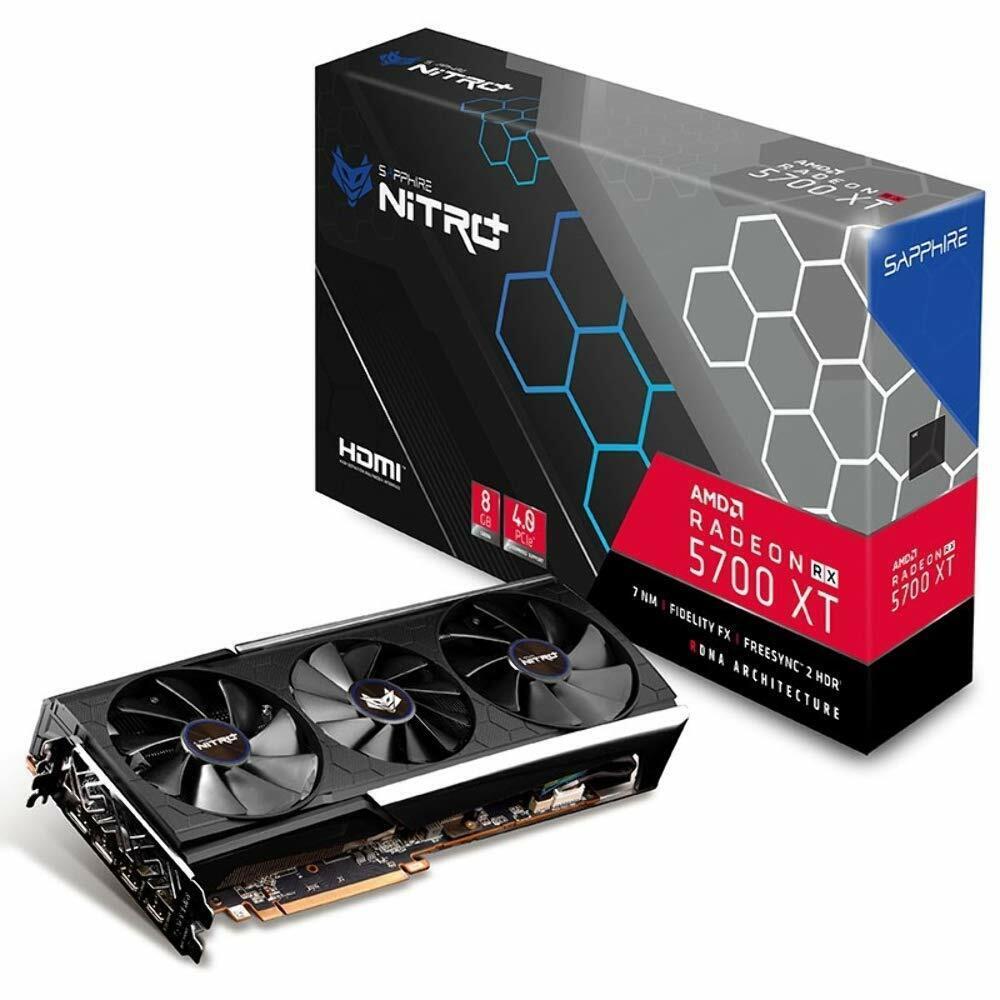 SAPPHIRE Radeon RX 5700 XT NITRO+ 8GB GDDR6 Grafikkarte (11293-03-40G) -NEU&OVP-