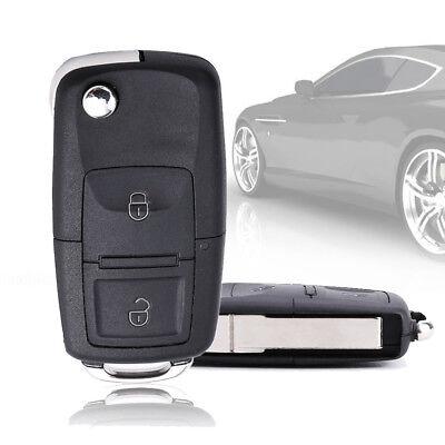 Schlüssel Gehäuse für VW 2 Tasten T4 T5 Golf Polo Lupo Bora Rohling
