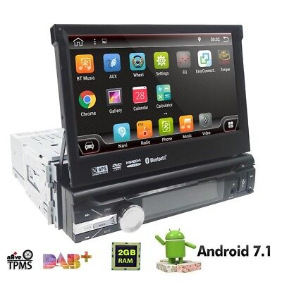 GPS Android 7.1 Lone 1 DIN 7 inch Auto Car Stereo Central Multimidia Player