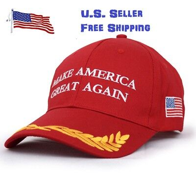 President Donald Trump Make America Great Again Hat Republican Adjustable Capred