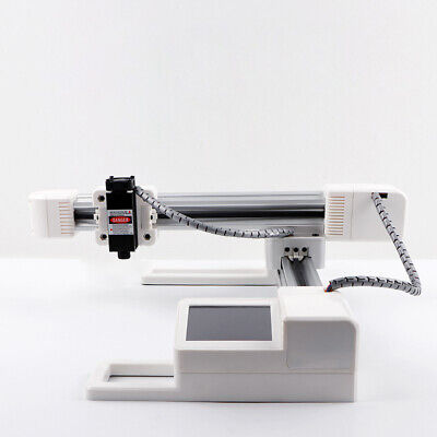 Used 12v Laser Engraver 3w White Aluminum Alloy Abs Desktop Diy Printing Laser