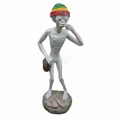 roß Mütze mit Jamaika Farben coole Deko Figur Halloween 2018 (Lebensgroße Halloween Figuren)