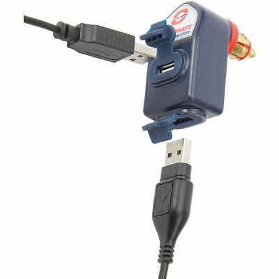 Duales USB Schnellladegerät 3300 mA für Motorräder BMW TRIUMPH von TECMATE  3300 Usb