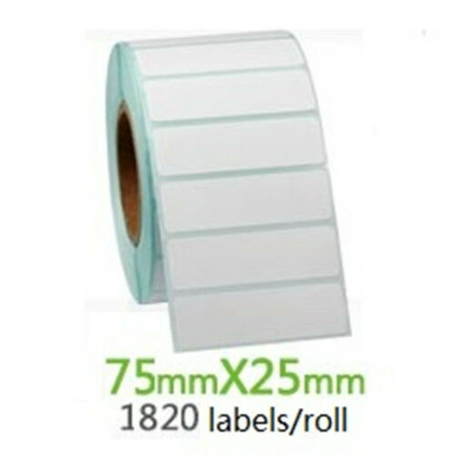 """3″ X 1"""" Direct Thermal Labels, Perforated UPC Barcode FBA Labels – 1820 Pcs/roll Address & Shipping Labels"""