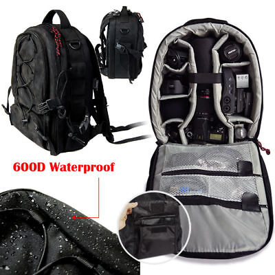DSLR Camera Waterproof Backpack Bag Case for Canon Nikon Sony Weather Cover NEW