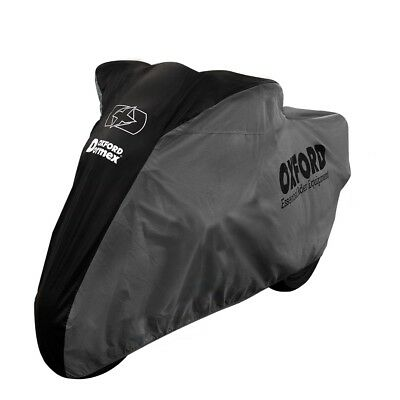 Oxford Dormex Indoor Motorcycle Motorbike Cover Elasticated Bottom XL CV404 T
