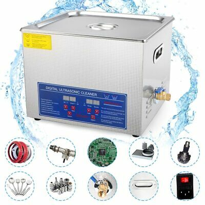 Professional 15l Ultrasonic Cleaner Stainless Steel Industry With Digital Timer