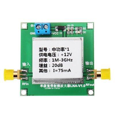 1-3000mhz 2.4ghz 20db Low Noise Lna Rf Broadband Amplifier Module Hf Vhf Uhf