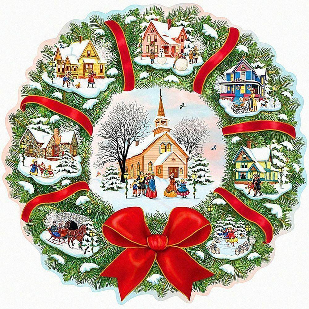 christmas ornaments diamond painting