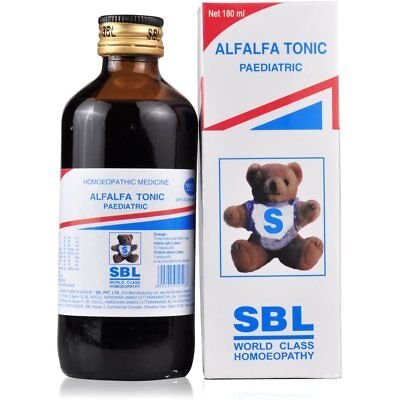 SBL ALFALFA TONIC Homeopathic Remedy for Immune System Boost 115ml Free Shipping