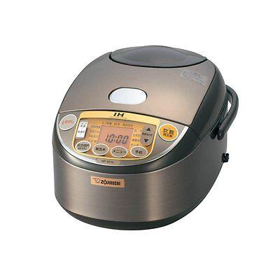 New ! ZOJIRUSHI pressure IH rice cooker 5.5 cup Brown NP-VD10-TA  Japan