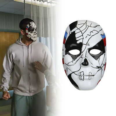 The Punisher 2 Billy Russo Cosplay Mask Costume Props Halloween Masquerad - The Punisher Halloween Costume