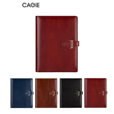 A5 Pu Leather Notebook Diary Business Planner Calendar Note Organizer 4colors