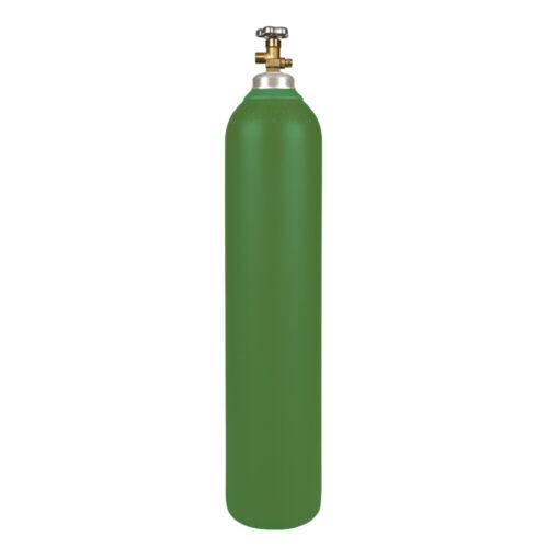 NEW 80 cu ft Steel Oxygen Cylinder CGA540 - OxyAcetylene Welding - DOT Approved