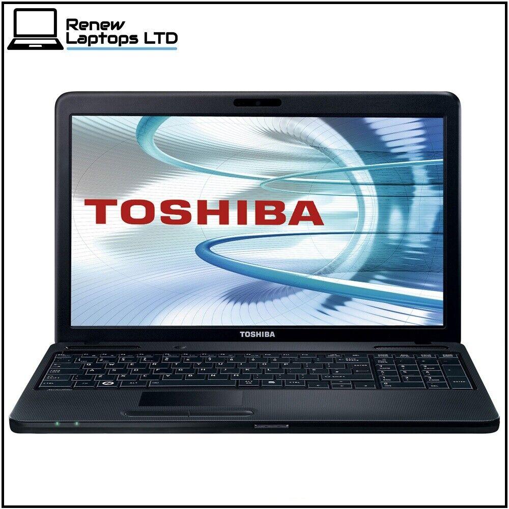 "Laptop Windows - Toshiba C660 15.6"" Laptop. i3-M380 2.53Ghz, 8Gb RAM, 480Gb SSD, Windows 10"