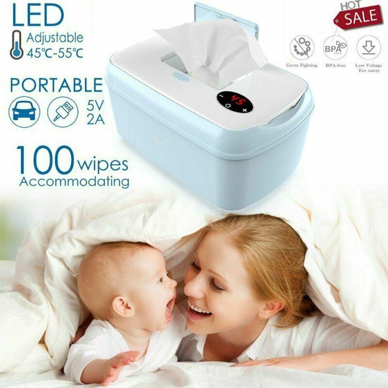 Baby Wipe Warmer Wet Dispenser Heater Tissue Box Heating Wipes Holder Container